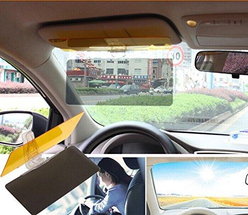 Eximtrade Car Sun Visor Sunlight UV-Ray Day and Night Anti-Glare Eye Protector