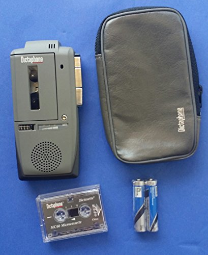 Dictaphone 3225 Portable Microcassette Recorder by Dictaphone