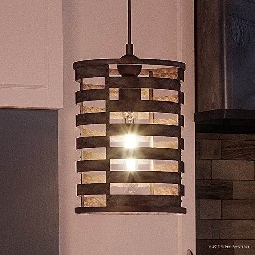 Luxury Art Deco Pendant Light, Small Size: 14