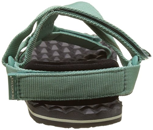 The North Face Base Camp Switchback, Sandalias Deportivas para Mujer Gris (Agate Green/Graphite Grey)