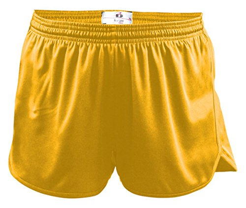 Badger Men's B-Core Performance Heat Seal Drawcord Track Short, Large, Gold]()