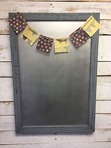 Rustic Magnet Board-Message Center-Magnetic Board-Office Organizer-Message Board-Family Message Board-Framed Magnet Board-Bulletin Board