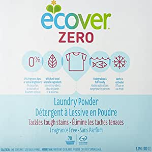 Ecover Powder Zero Laundry Detergent, 112 Ounce
