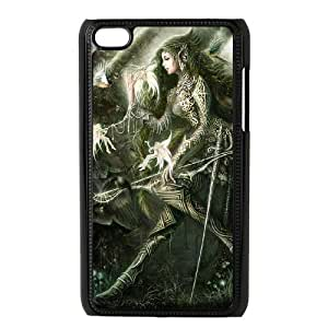 Ipod Touch 4 Phone Case Angel Warrior