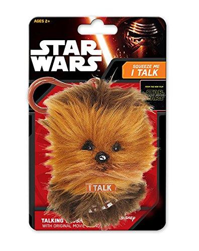Llavero peluche Chewbacca, con sonido de 11cm. Star Wars ...