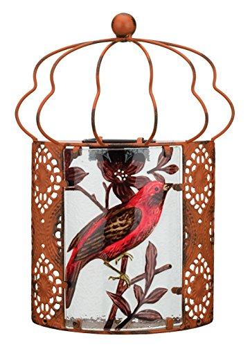 (Regal Art & Gift 11630 Bird Wall Sconce Wall Decor, Red)