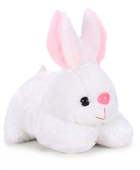 03b9bd48600 Buy Tickles White Rabbit Stuffed Soft Plush Toy 26 Cm - White Online at Low  Prices in India - Amazon.in