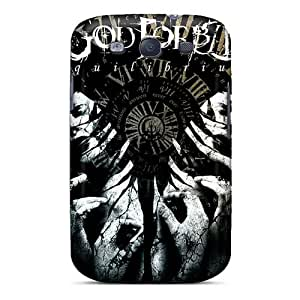 Perfect Hard Cell-phone Case For Samsung Galaxy S3 With Support Your Personal Customized Beautiful God Forbid Band Image LauraFuchs