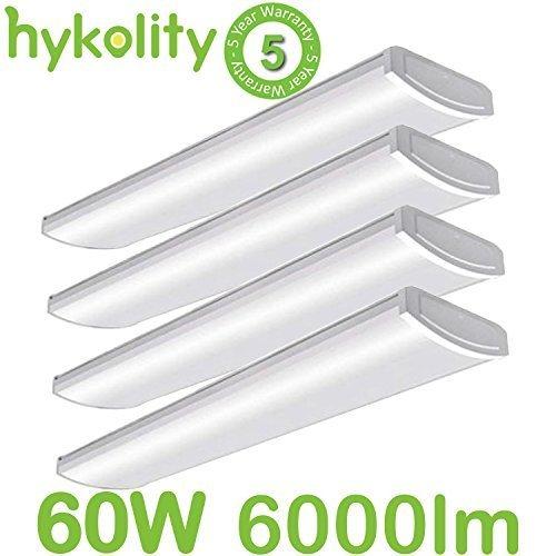 Hykolity 4FT LED Commercial Wraparound Light Low