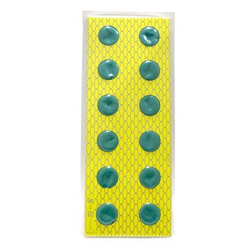 ホットブルーン用 もぐさキャップ よもぎ 12枚×4個 (計48枚)(SO-250D) 12枚×4個  B07KP4MX1X