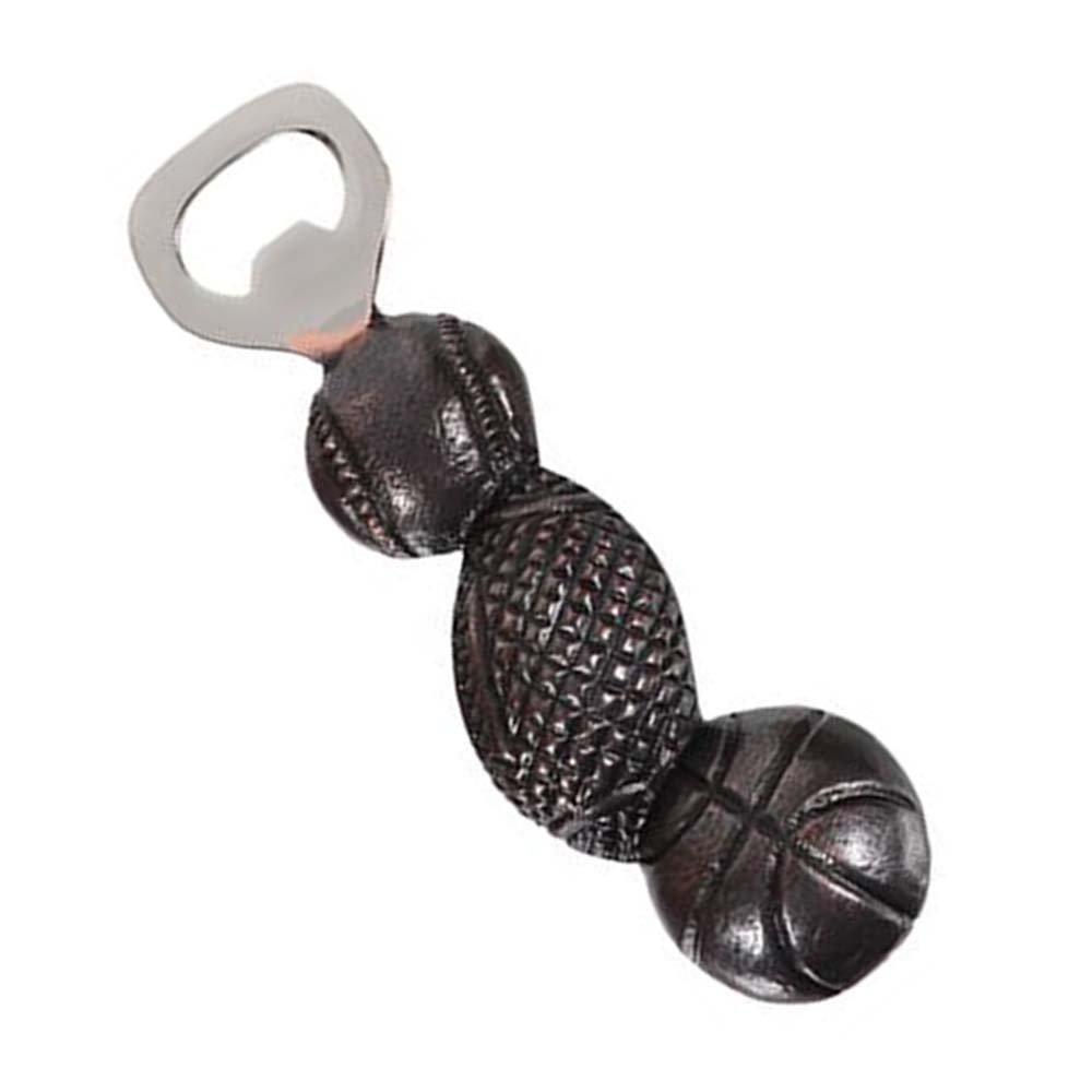 Baseball Football Basketball DEI Tri-Sports Cast Iron Bottle Opener
