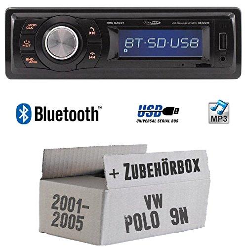 VW Polo 9N - Autoradio Radio Caliber RMD020BT - Bluetooth | MP3 | USB | Einbauzubehö r - Einbauset JUST SOUND best choice for caraudio VWPo9N_RMD020BT