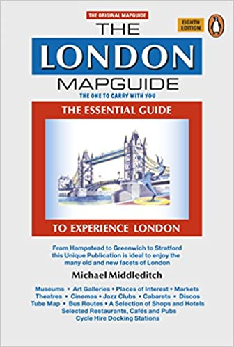 The London Mapguide Eighth Edition Mapguides Penguin Michael - London map guide