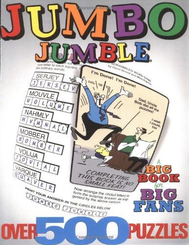 Jumbo Jumble®: A Big Book for Big Fans