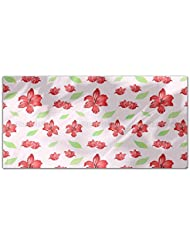 Passion For Lilies Rectangle Tablecloth Large Dining Room Kitchen Woven Polyester Custom Print