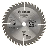 Bosch PS740GP 7-1/4 In. 40 Tooth Precision Series Circular Saw Blade