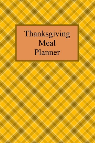 Thanksgiving Meal Planner by Tea Cricket