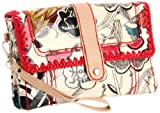 The SAK Artist Circle 3-In-1 Clutch,Natural Peace Print,One Size, Bags Central