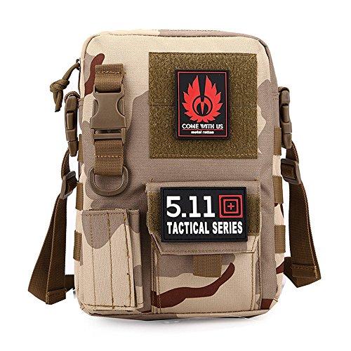 e-jiaen bolsa de deporte bolsa de hombro para Casual al aire libre viaje senderismo Camping, C6 C1