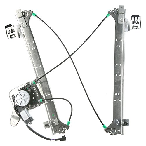 A-Premium Power Window Regulator with Motor For Chevrolet Suburban 1500 2500 2000-2006 Silverado GMC Sierra Cadillac Escalade EXT Rear Right Passenger Side