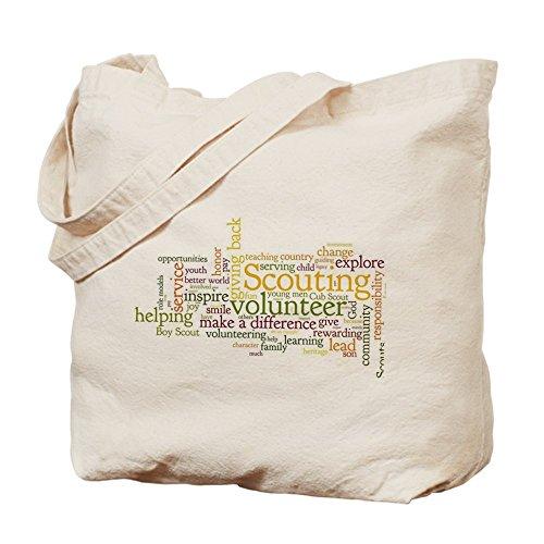 CafePress–Scouting voluntario–Gamuza de bolsa de lona bolsa, bolsa de la compra