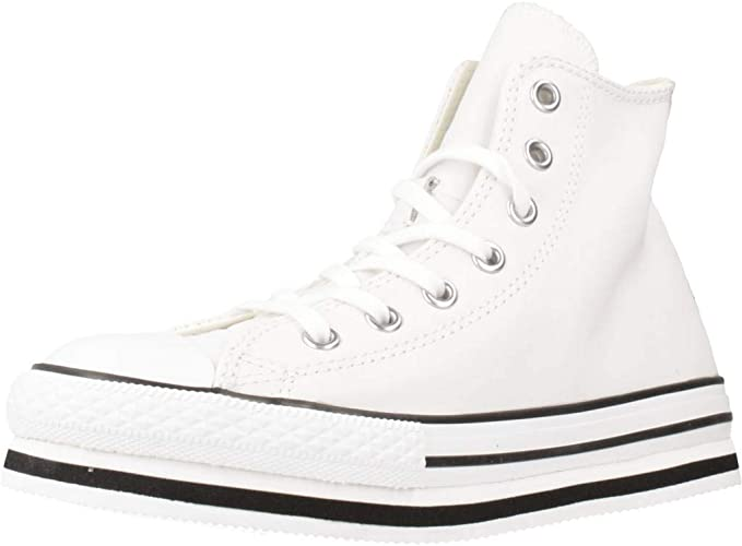 girls white converse boots