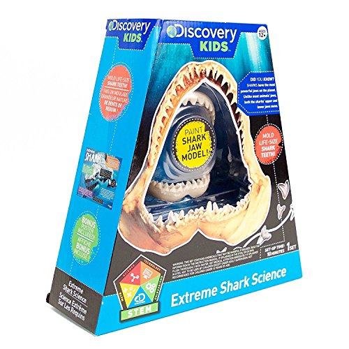 Discovery Kids Extreme Shark Science Teeth Molding Kit