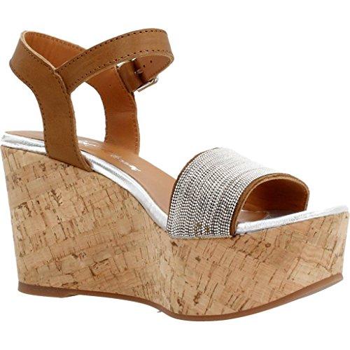 marrone marca Alpe sandali colore 58 Sandali cammello marrone 3339 modello tq6O8v
