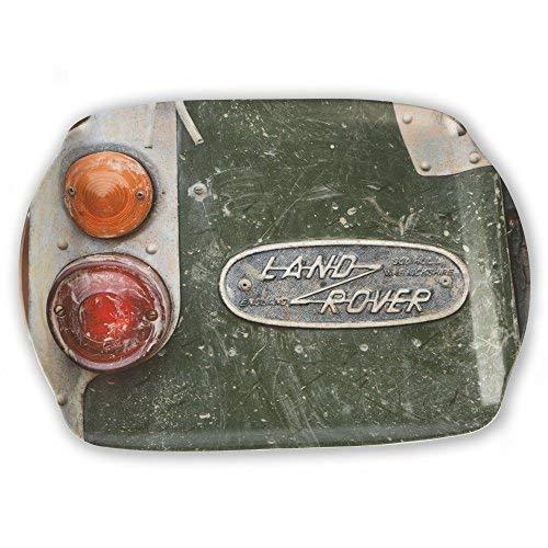 Bandeja para servir tama/ño mediano de Old Land Rover Regalo de moto