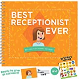Best Receptionist Ever Edition - This 24-page Booklet Is The Perfect Gift, It Comes With Funny Quotes And Ingenious Designs To Make This The Most Original Present For Employees & Front Desk Assistant