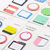 Creative Sticky Memo Pad Mini Note Kids Gift Bookmark Stationery Sticker