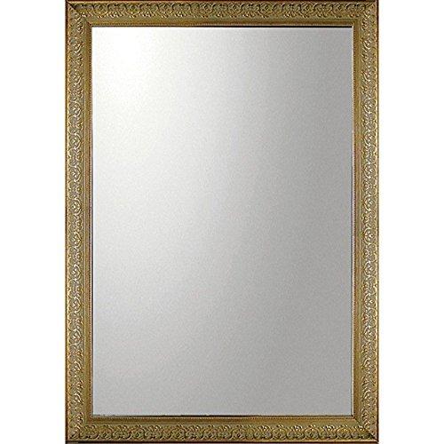 ユーパワー Big Mirror デコラティブ大型ミラー 長方形 ゴールド BM-20024 B01N03MDN6長方形