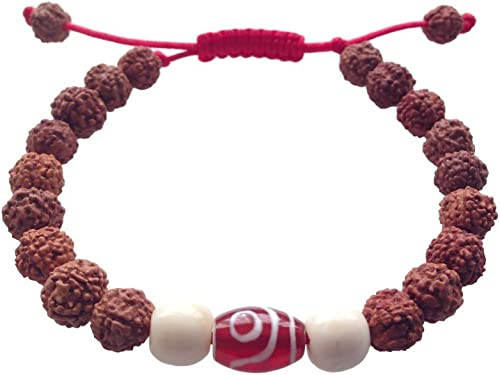 Rudraksha bracelet Chakra bracelet Hindu jewelry Wood bracelet Meditation bracelet Rudraksha jewelry Tibetan Prayer beads Buddhist bracelet