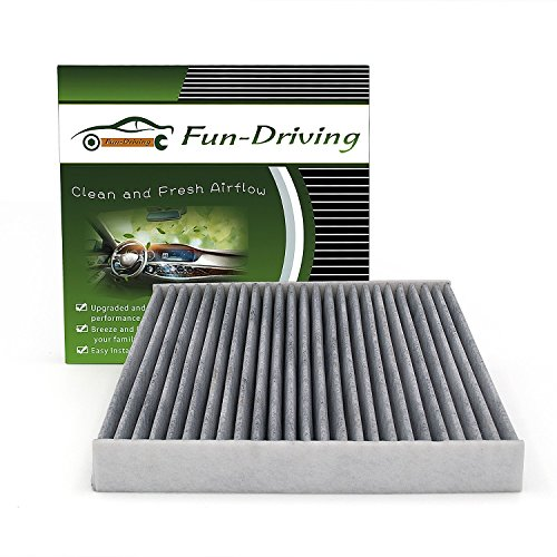 Honda Carbon - Cabin Air Filter for Honda,Acura, with Activated Carbon from Bamboo Charcoal, Replacement for CF10134, 80292-SDA-A01, 80292-SDC-A01, 80292-SEC-A01, 80292-SHJ-A41, 80292-SWA-A01, 80292-T0G-A01