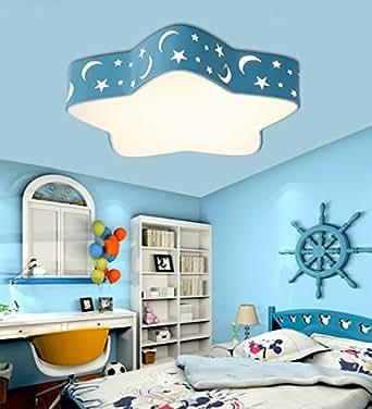 Malovecf habitación infantil lámpara de techo LED Bombilla ...