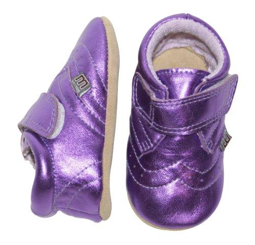 Melton 4009_Melton_Baby Mädchen Zapatillas de Cuero para Niños púrpura - morado