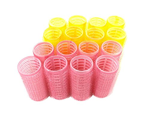 Medium Size Self Grip Hair Rollers Pro Salon Hairdressing Curlers by HAIR ROLLERS (Image #3)