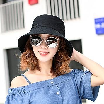 729ba34b228 Womens UPF 50+The Fisherman Hat All-Match Small Fresh Art Student Basin Cap  Beach Hat Summer Sun Hat