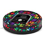 MightySkins Skin for iRobot Roomba 960 Robot Vacuum - Stained Glass Window   Protective, Durable, and Unique Vinyl Decal wrap Cover   Easy to Apply, Remove, and Change Styles   Made in The USA