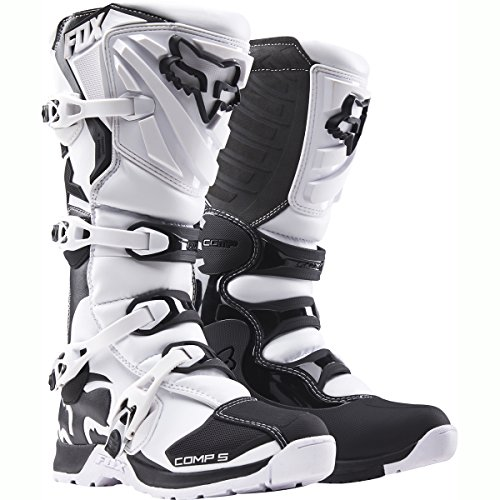 Mountain Glove Challenge Mens (Fox Racing Comp 5 Men's Off-Road Motorcycle Boots - White / Size 11)