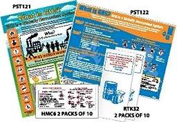 National Marker HC12B Large GHS Kit, English