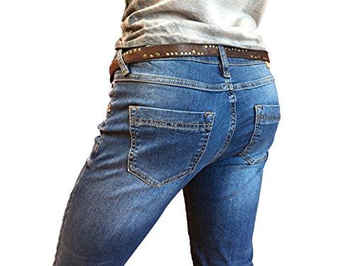 Donna Air zip Amor Jeans Truth ATT amp; Trust Blue YRqxA0