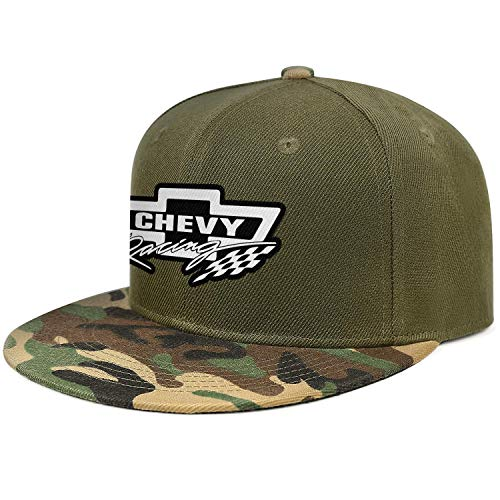 Mens Womens Chevy-Racing-Logos- Adjustable Bucket Hats Military Caps Vintage Trucker Hat Cap