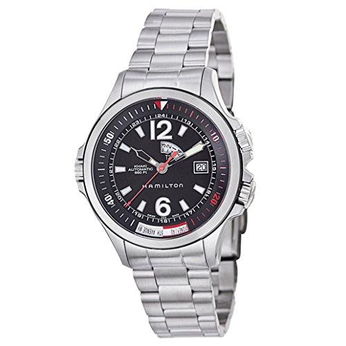 [ハミルトン]HAMILTON 腕時計 KHAKI NAVY GMT H77555135 メンズ [正規輸入品] B00264GMH8