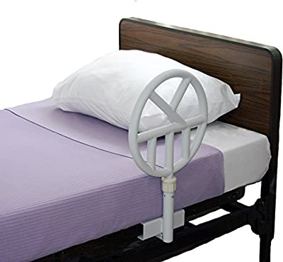 Halo Safety Bed Ring One Sided For Institutional/Hospital Beds With Pad Protector