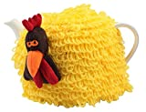 T&G Woodware Farmyard Crazy Charlie Yellow Chicken Tea Cosy - 2520060
