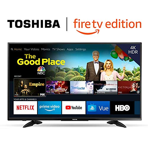TOSHIBA 43LF711U20 43-inch 4K Ultra HD Smart LED TV HDR - Fire TV Edition (Best 40 Lcd Tv Under $500)