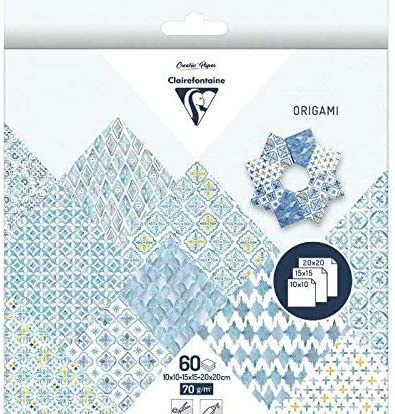 Amazon.com: Papeles para origami 3.9 x 3.9 in; 5.9 x 5.9 in ...