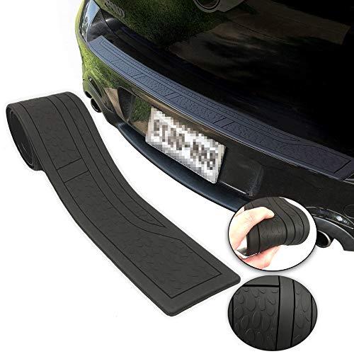 Rear Trunk Bumper Protector Guard Non Slip Rubber Sill Cover 41 inch