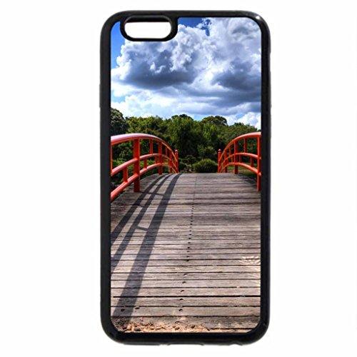 iPhone 6S / iPhone 6 Case (Black) Walkway Bridge
